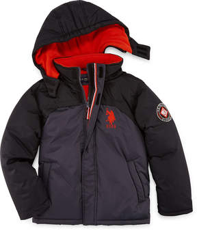 U.S. Polo Assn. Boys Heavyweight Parka-Big Kid
