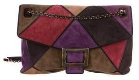 Roger Vivier Suede Patchwork Bag