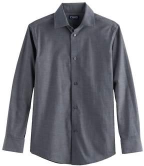 Chaps Boys 4-20 Stretch Button-Down Shirt