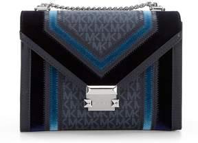 MICHAEL Michael Kors Whitney Signature Colorblock Shoulder Bag