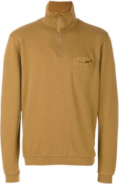 Universal Works zip neck sweatshirt