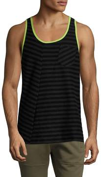 2xist Men's Cotton Striped Tank Top