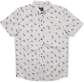 Rip Curl Men's Dab Palm-Print Pocket Shirt