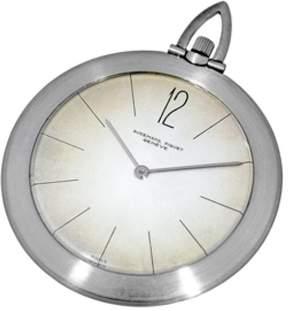 Audemars Piguet Ultra Thin Vintage Platinum Mechanical 47mm Unisex Pocket Watch
