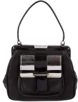 Michael Kors Leather Frame Bag