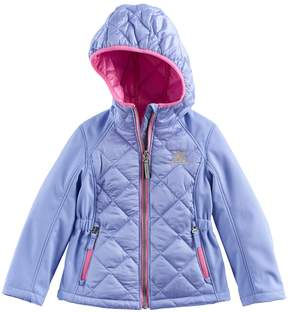 ZeroXposur Toddler Girl Eleanor Midweight Quilted Jacket