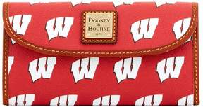 Dooney & Bourke NCAA Wisconsin Continental Clutch - WISCONSIN - STYLE