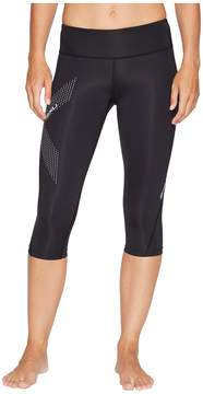 2XU Mid-Rise Compression 3/4 Tights Women's Workout