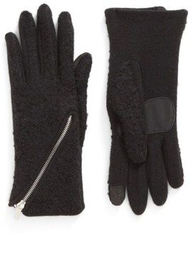 Echo Women's 'Touch - Zip Boucle' Tech Gloves