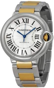 Cartier Ballon Bleu Unisex Steel and Gold Watch