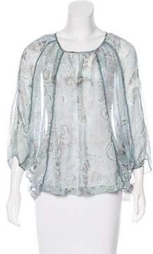 DAY Birger et Mikkelsen Silk Printed Blouse