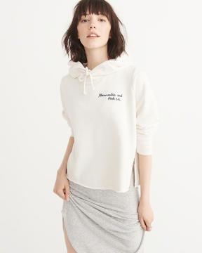 Abercrombie & Fitch Indigo Logo Pullover