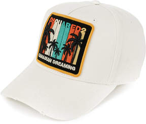 DSQUARED2 Canadian Dreaming patch baseball cap