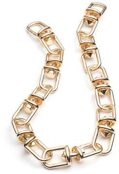 Eddie Borgo Fame Golden Link Necklace