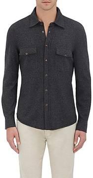 Brunello Cucinelli Men's Wool-Blend Sweater Shirt