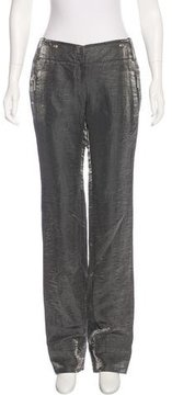 Christian Dior Mid-Rise Linen Pants