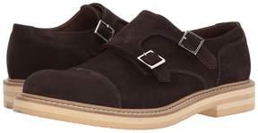 Eleventy Suede Double Monk Men's Shoes