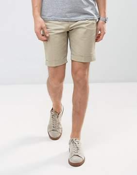 MANGO Man Chino Shorts In Beige