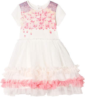 Billieblush White and Pink Tulle Party Dress