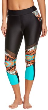 Body Glove Women's Terra Tsumani Capri Swim Tight 8151445