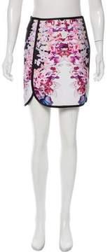 Cynthia Rowley Printed Mini Skirt