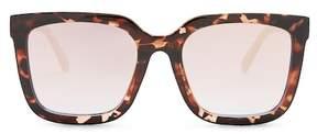 Quay Women's Genesis Square Mirrored Sunglasses