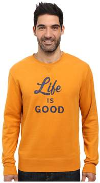 Life is Good Men's Long Sleeve Pullover