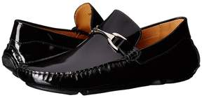 Matteo Massimo Patent Bit Driver Men's Slip on Shoes
