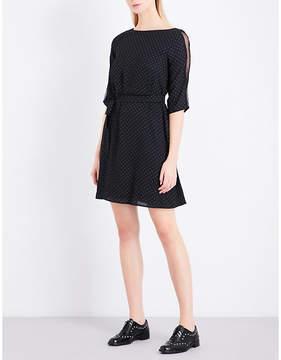 Claudie Pierlot Review lace-detail woven dress