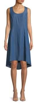 Context Sleeveless Hi-Lo Dress