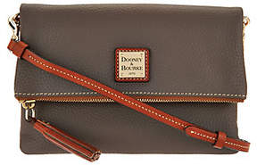 Dooney & Bourke Pebble Leather Foldover Zip Crossbody - ONE COLOR - STYLE