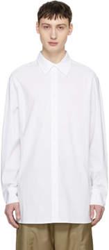 D.gnak By Kang.d White Slit Shirt