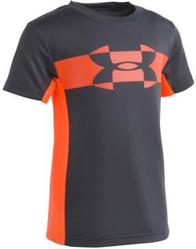 Under Armour Boys 4-7 Mesh Logo Tech Tee