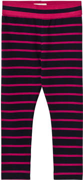 Hatley Navy and Pink Stripe Leggings