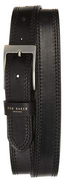 Ted Baker Crikiit Stitched Leather Belt
