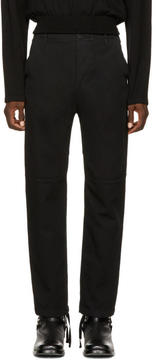 Balenciaga Black Slim Utility Trousers