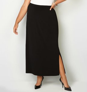 Avenue Pull-On Maxi Skirt
