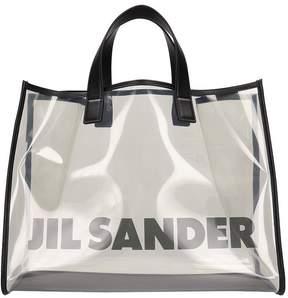 Jil Sander Shopper Bag In Pvc