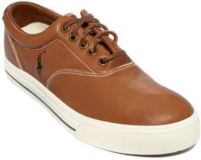 Polo Ralph Lauren Vaughn Leather Sneakers Men's Shoes