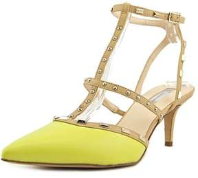 INC International Concepts Carma Pointed Toe Synthetic Slingback Sandal.