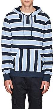 Orlebar Brown Men's Karson Striped Cotton Hoodie