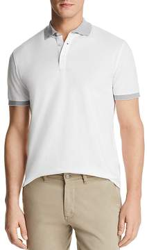 Bloomingdale's The Men's Store at Mini Piqué Tipped Short Sleeve Polo Shirt - 100% Exclusive