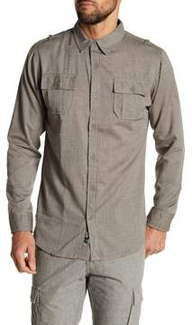 Burnside Long Sleeve Woven Shirt