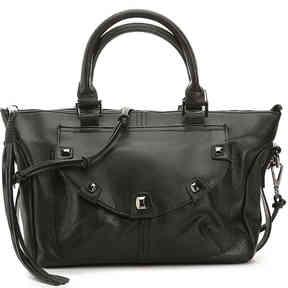 Women's Penelope Leather Satchel -Black