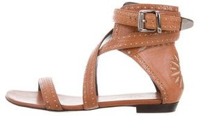 Barbara Bui Laser Cut Gladiator Sandals