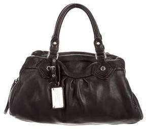 Marc by Marc Jacobs Pebbled Leather Satchel - BLACK - STYLE