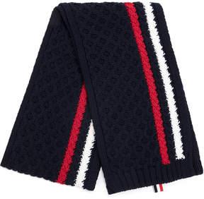Thom Browne knit striped scarf