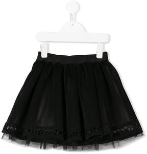 Givenchy Kids pleated tulle skirt