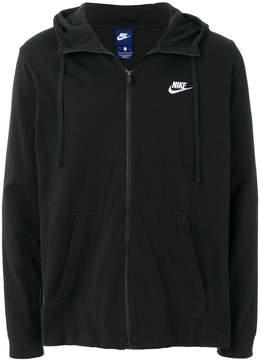 Nike embroidered logo jacket