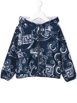 Versace Baroccoflage zipped jacket
